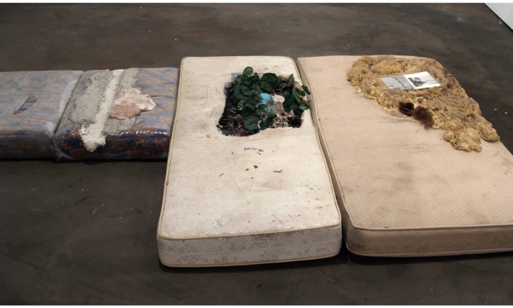klauswinichner mattress-concrete Miami art fair