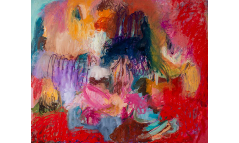 Anna Steinert Painting Unruhe