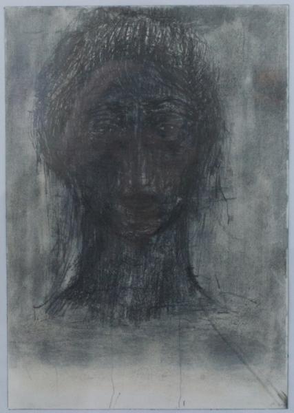 Pascal Son Sorg o.T. 2021 mixed media on paper 25 x 18 cm. Passive Aggressive, Galerie Sandra Bürgel, Berlin 2021