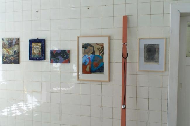 Passive Aggressive, Galerie Sandra Bürgel, Berlin 2021 (Shulamith Weisz Quinn, Finn Carstens, Abie Franklin, Ximena Ferrer-Pizarro, Fad Aljabour, Pascal Son Sorg)