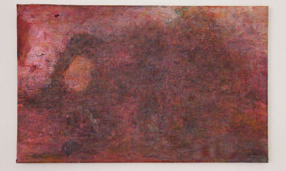 dominik eggermann painting of red door