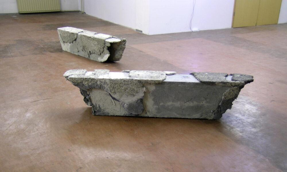 klauswinichner bench 2013 waschbeton