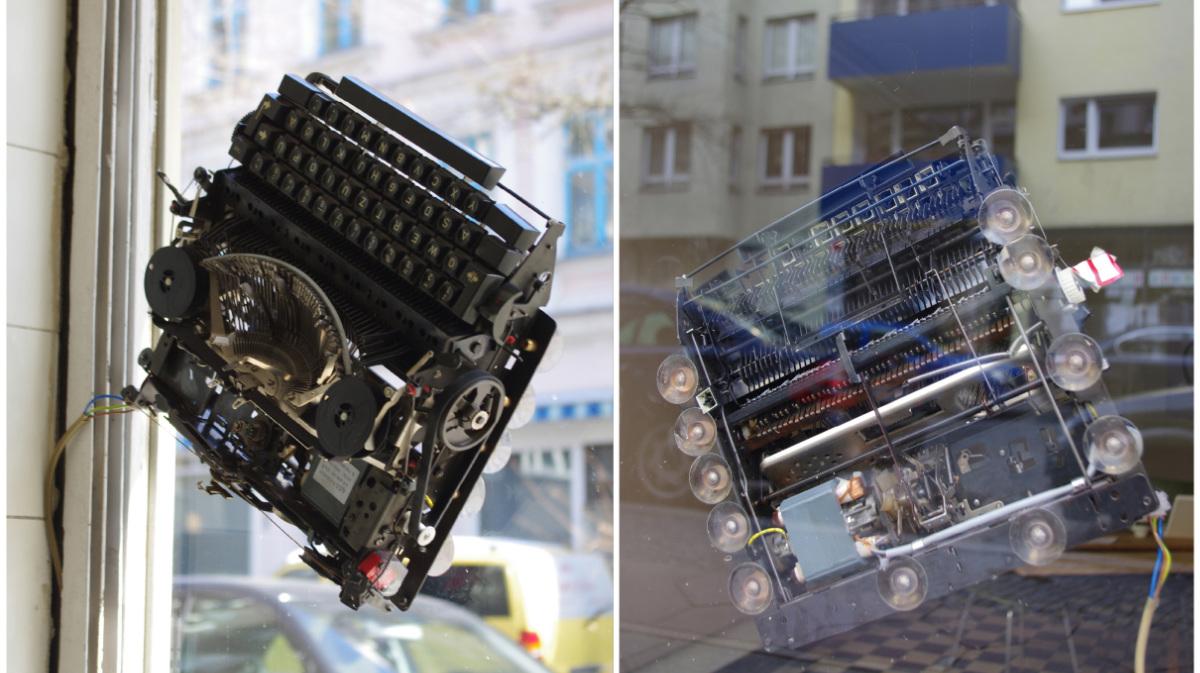 nina rhode typewriter buergel Triumph-adler