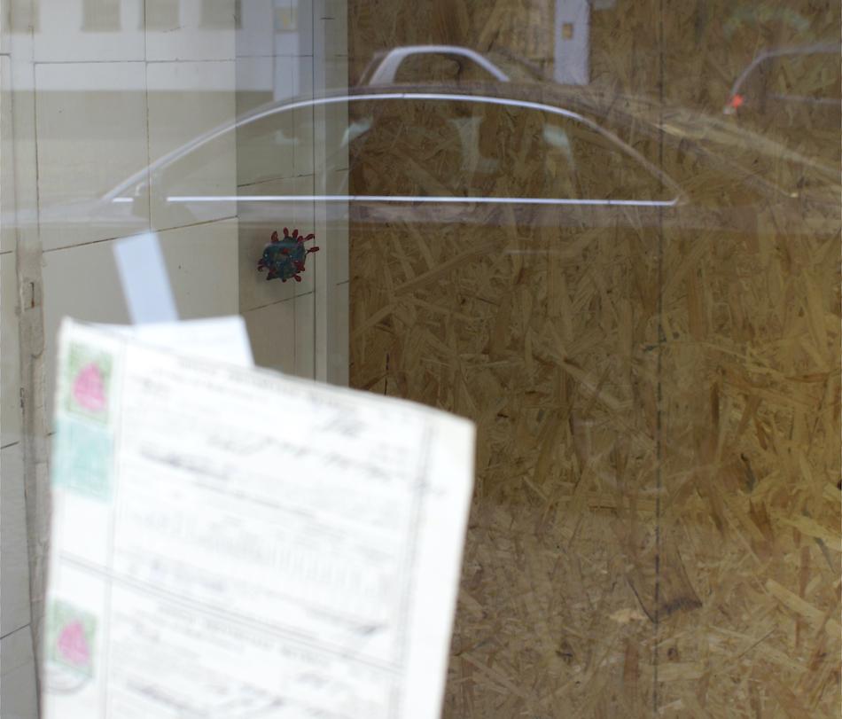 Sandra Hauser Bürgel Burgel lockdown corona virus art